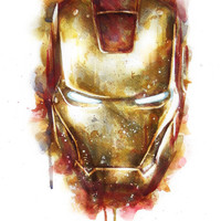 Iron Man Canvas Print by Beart24