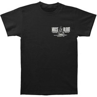 Moose Blood Men's  Campfire T-shirt Black