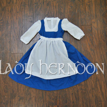 My Fairy Tale: Belle's Village Dress from Disney's Beauty and the Beast - Sizes 2T, 3T, 4T, 5, 6, 7, 8, and 10