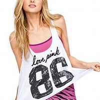 Sequin Yoga Tank - Victorias Secret PINK - Victoria's Secret