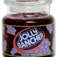 Jolly Rancher by Hanna's Candle 16.75-Ounce Jolly Rancher Grape Jar Candle