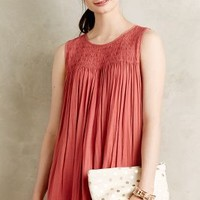 Smocked Swing Tank by Dolan Coral