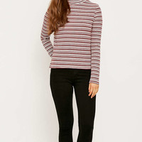 Urban Outfitters Ribbed Turtleneck Jumper - Urban Outfitters