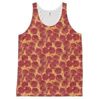 pizza pizza tank top shirt All-Over print tank top