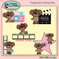 Pupperazzi Cutting File Set