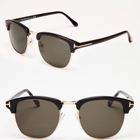 Tom Ford Henry Wayfarer Sunglasses | Bloomingdale's