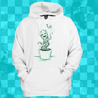 i am baby groot singing  crewneck hoodie for men and women