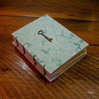 Guestbook Journal, Wedding sign in book, Skeleton Key Journal, Hostess Gift, Unique Birthday Gift, Writing Gift