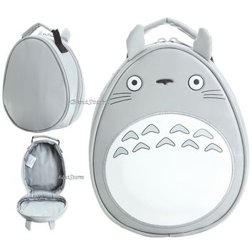Licensed cool My Neighbor Totoro School Lunch Box Bag Insulated Cooler Tote Studio Ghibli NEW