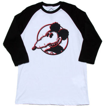 Altru Apparel Mickey Rat Raglan mens shirt (XL only)