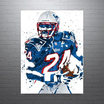 Ty Law New England Patriots Poster