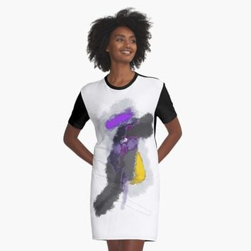 """commute"" Graphic T-Shirt Dress by BillOwenArt 