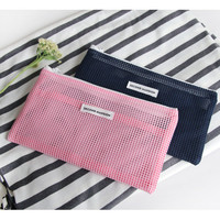 PlanD Second mansion slim mesh pouch