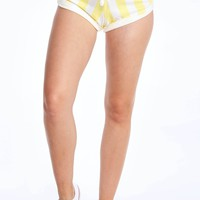Slim Stripe Gym Shorts