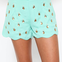Pineapple Express Shorts - FINAL SALE