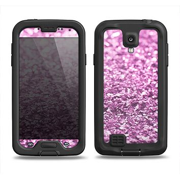 The Purple Glimmer Samsung Galaxy S4 LifeProof Fre Case Skin Set
