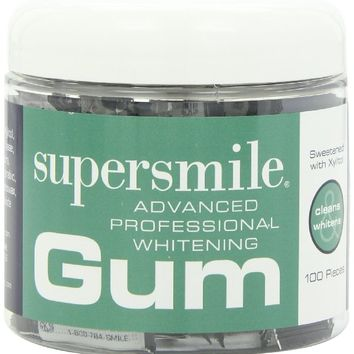 Supersmile Whitening Gum, 100 Count