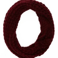Cinnamon Sweater Knit Cowl Scarf by Charlotte Russe
