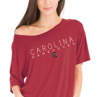 NCAA - South Carolina Gamecocks- Aimee Oversized Modal Tee