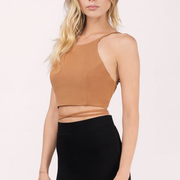 Kendall Wrap Up Crop Top