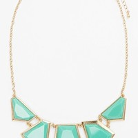 Stephan & Co. Enamel Statement Necklace (Juniors) | Nordstrom