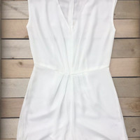 Ivory Twilight Party Romper