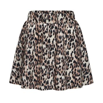 Mini Skirts Summer Style Skirt Women Fashion Party Cocktail Leopard Print High Waist Femme Faldas Mujer Women's Skirt