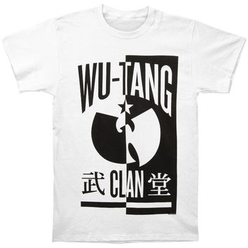 Wu Tang Clan Men's  B&W Yin Yang Bird Regular Mens T T-shirt White