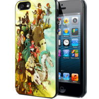 Studio Ghibli Characters Samsung Galaxy S3 S4 S5 Note 3 , iPhone 4 5 5c 6 Plus , iPod 4 5 case