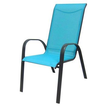 Room Essentials® Nicollet Patio Stacking Chair - Turquoise