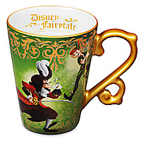 Peter Pan and Captain Hook Mug - Disney Fairytale Designer Collection