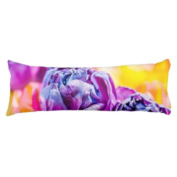 Tulips Enchanting 14 Body Pillow
