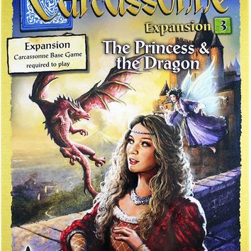 Carcassonne: Expansion 3 - Princess and the Dragon
