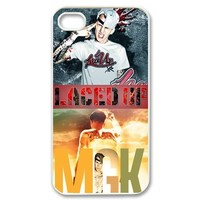Snap-on iphone 4 4S 4G Case -Machine Gun Kelly (MGK) Custom Printed Back Case Protector -6