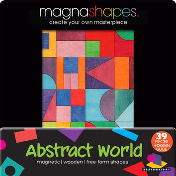 Brainwright MagnaShapes Abstract World