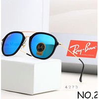 Ray-Ban 2018 trendy men and women with the same fashion trend sunglasses F-A-SDYJ NO.2
