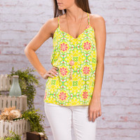 The Lily Pad Tank, Lime