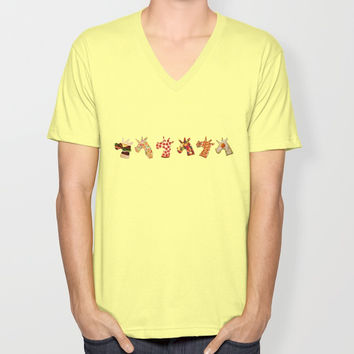 Unicorn Food Unisex V-Neck by That's So Unicorny
