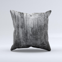 grunge metal by night fate stock-d2xibk1 Ink-Fuzed Decorative Throw Pillow