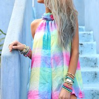 Rainbow Playsuit | SABO SKIRT