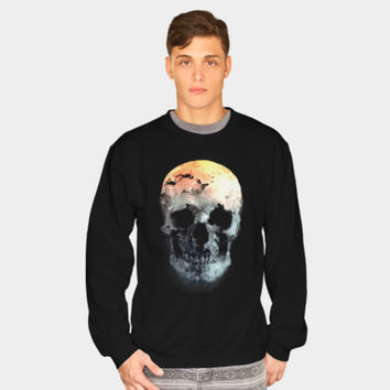 Autumn Skull Sweatshirt By Daniacdg Design By Humans