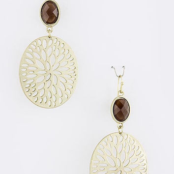 Ornamental Outdoors Drop Earrings