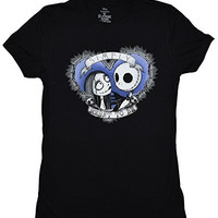 Nightmare Before Christmas Meant To Be Thorny Juniors T-shirt