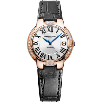 Raymond Weil - Ladies' Jasmine Rose Gold Diamond Automatic Watch 2935-PCS-00659