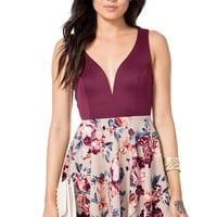 Mandy Floral Flare Dress