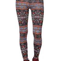 LA Hearts Printed Leggings - Womens Pants