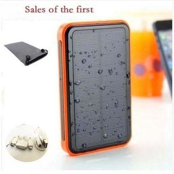 USB Solar Charger Waterproof Powerbank Backup Solar Power Bank 200000mah Portable External Bateria For All Cellphone Mobile Phone/Tablets [8072732487]