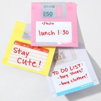 floppy disc sticky notes