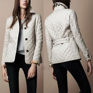 2017 Autumn Winter Brand New European American Women Coat Thickening Temperament Lapel Single-Breasted Warm Jacket Q1535
