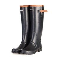 Women's Blyth Wellington Boots in Black by Barbour - FINAL SALE